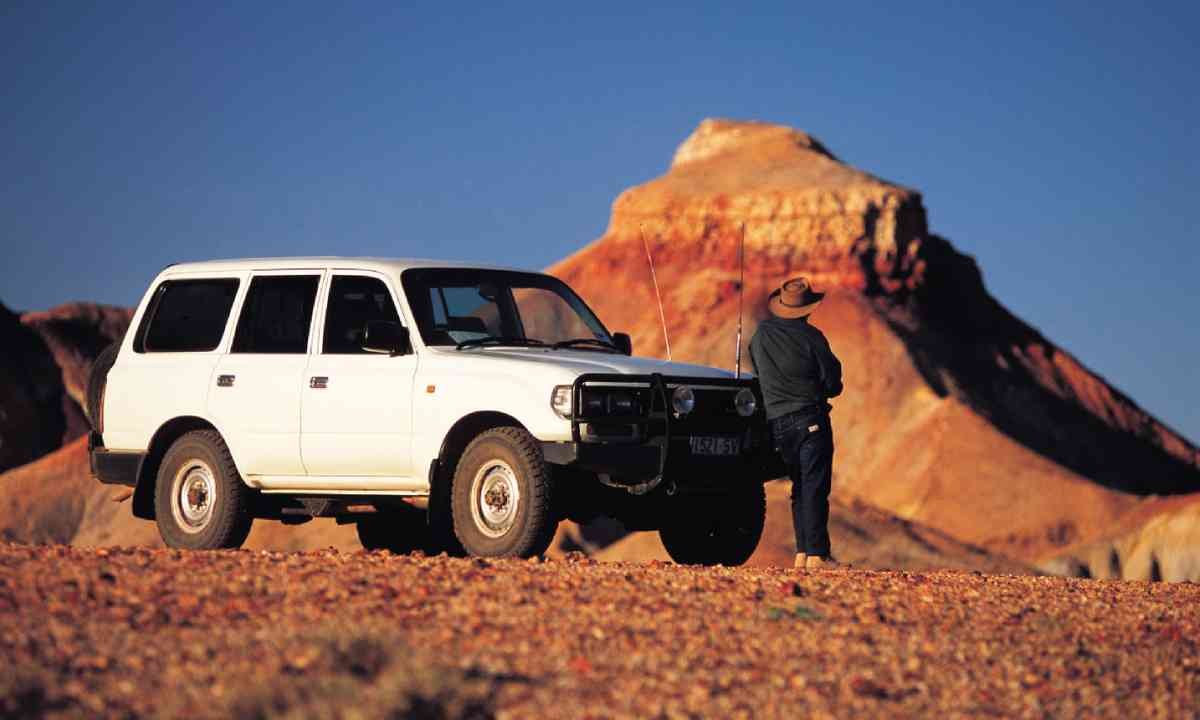 Off-roading in South Australia (SATC)