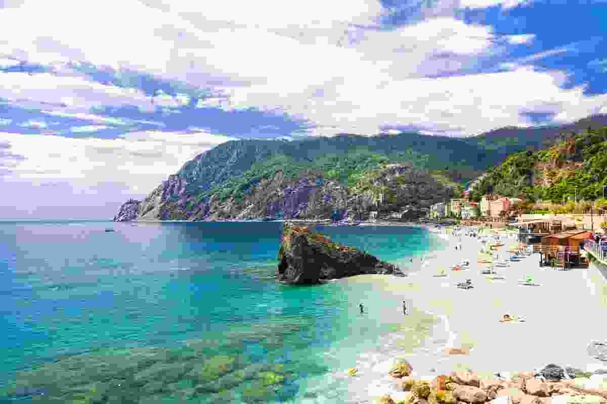 The glorious sandy beach at Monterosso al Mare, Cinque Terre, Italy (Shutterstock)