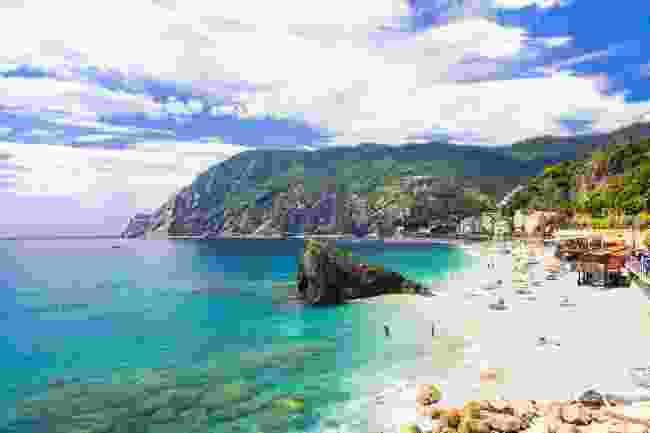 The glorious sandy beach at Monterosso al Mare, Cinque Terre, Italy (Shutterstock)