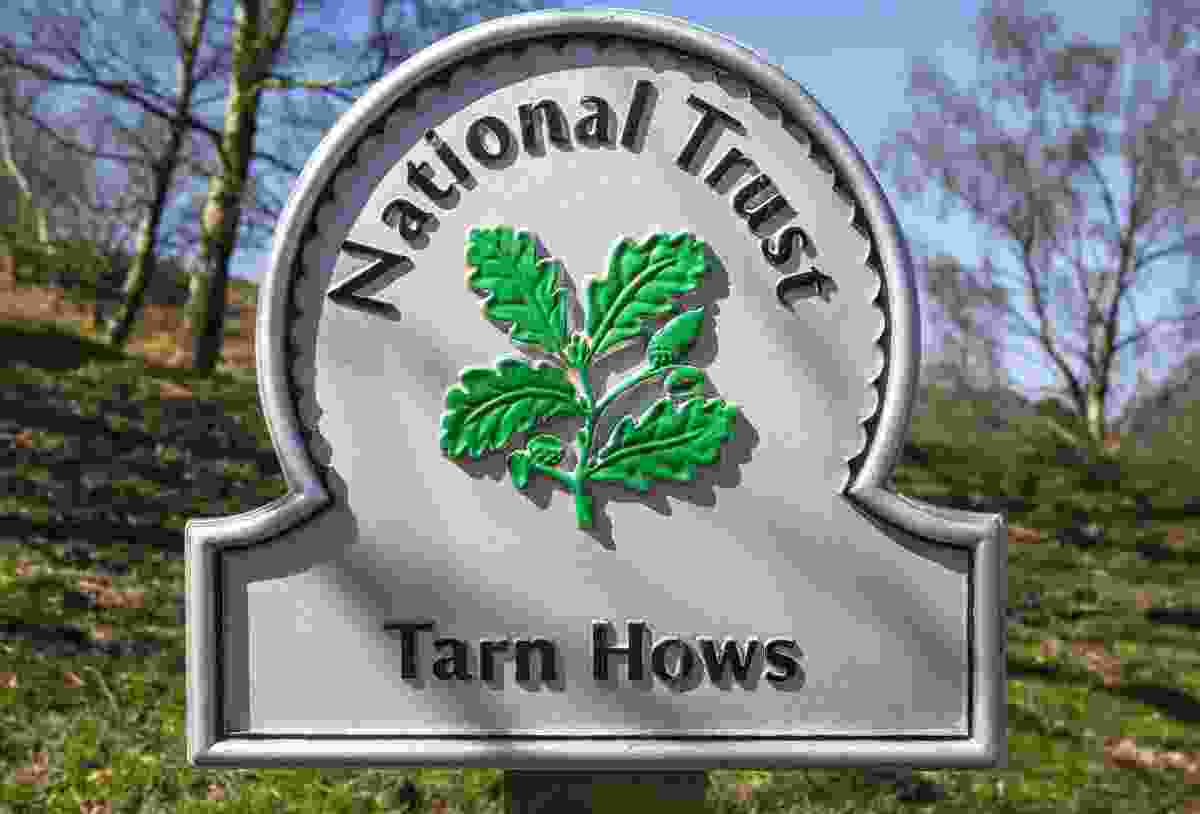 A National Trust sign in Tarn Hows, Lake District (Shutterstock)