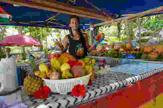 Local life in the Seychelles (Peter Moore)
