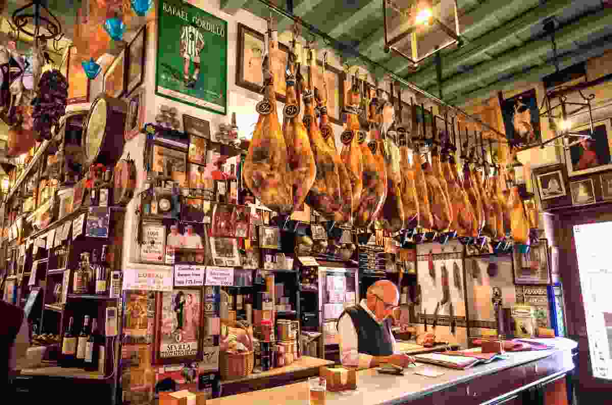 A Taperia in Seville, Spain (Shutterstock)