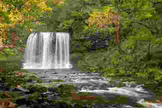 Sgwd yr Eira ('Waterfalls of Snow') on the River Hepste (Drew Buckley)