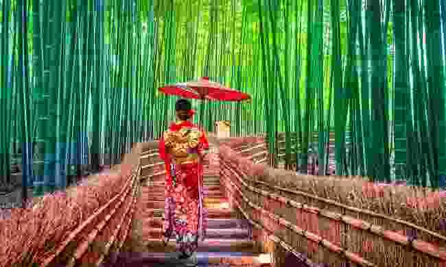 A virtual, cultural tour of Japan awaits... (Shutterstock)