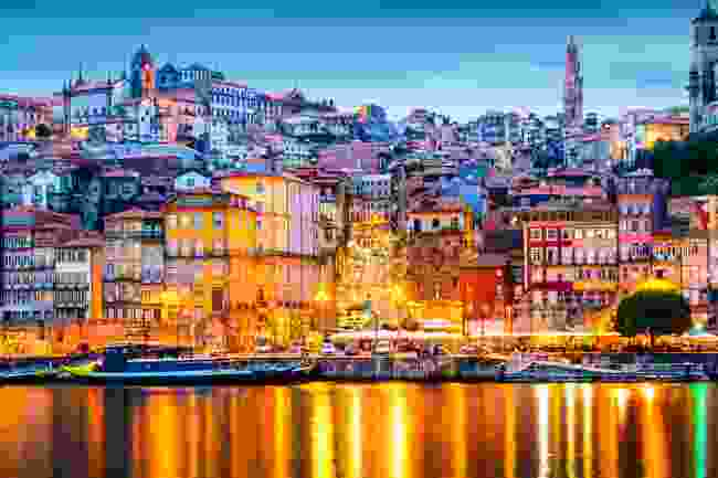 Porto old city skyline from across the Douro River. (Shutterstock)