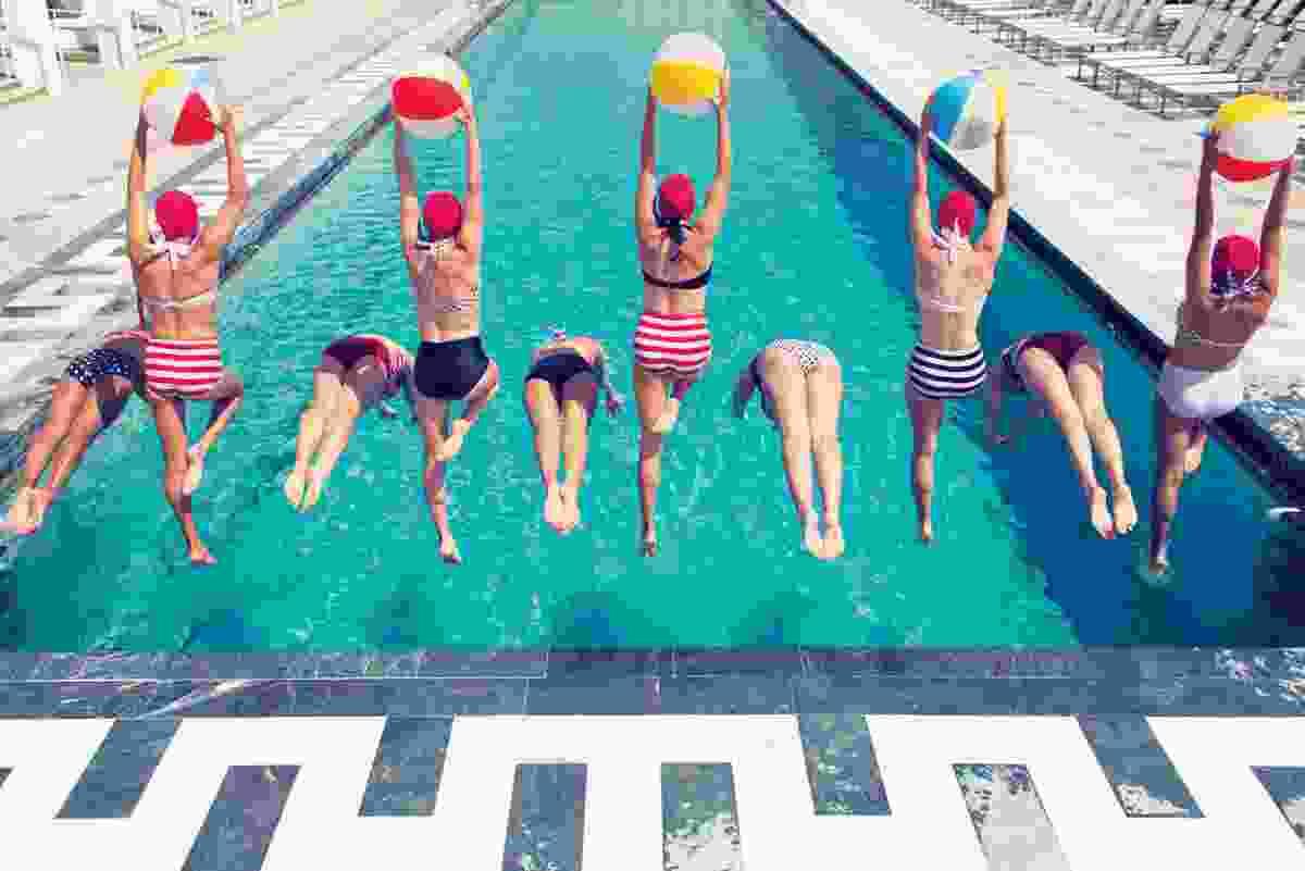 Summertime splash, Los Angeles, USA (Gray Malin)