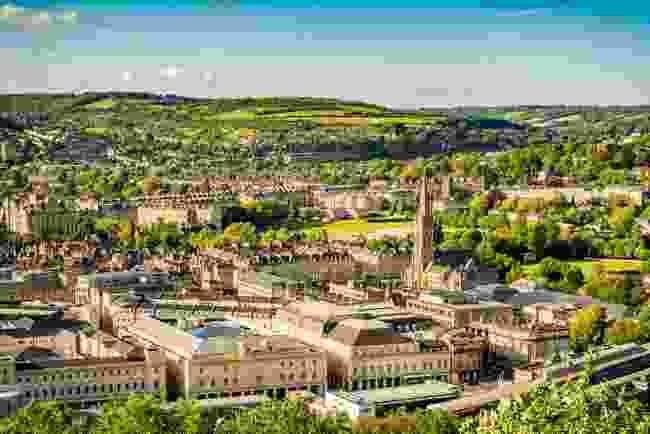 The view of Bath from Alexandra Park, Bath (Shutterstock)