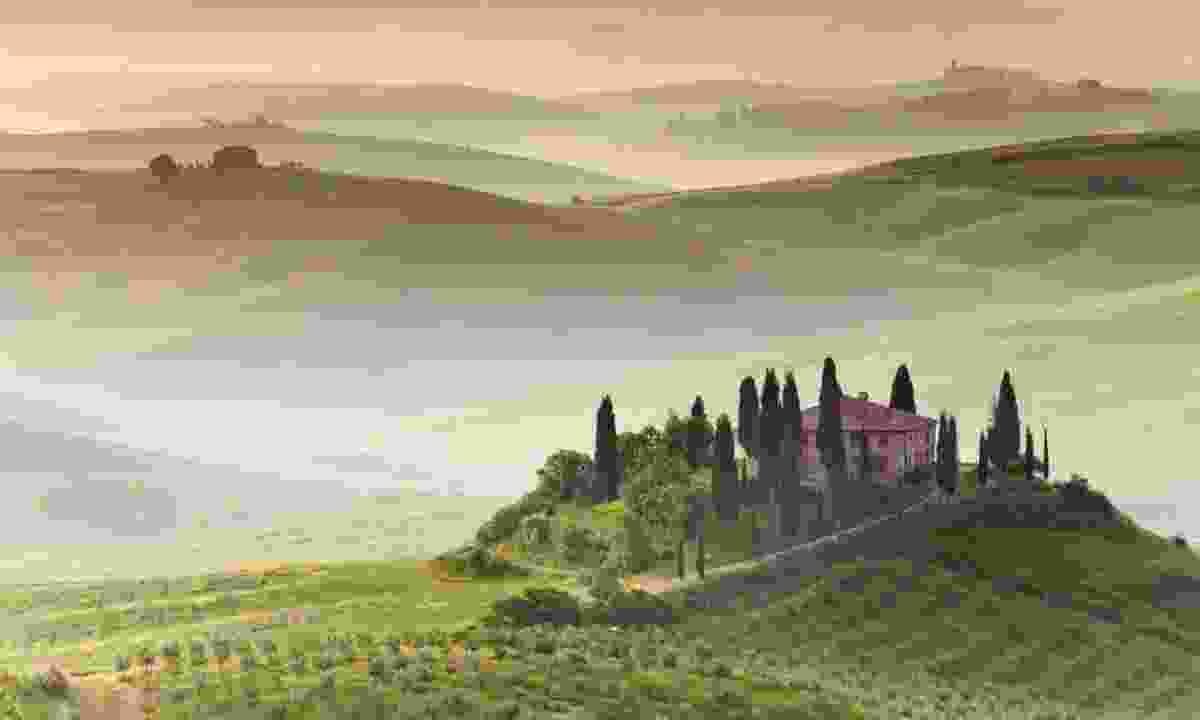 Early morning in Tuscany (Dreamstime)