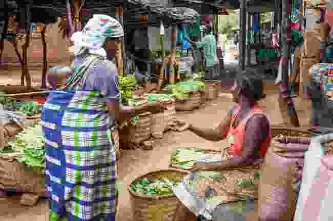 A market in Malawi (Shutterstock)