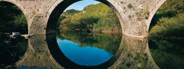 Epirus stone built bridge - photo by Zagoria Excellence Network