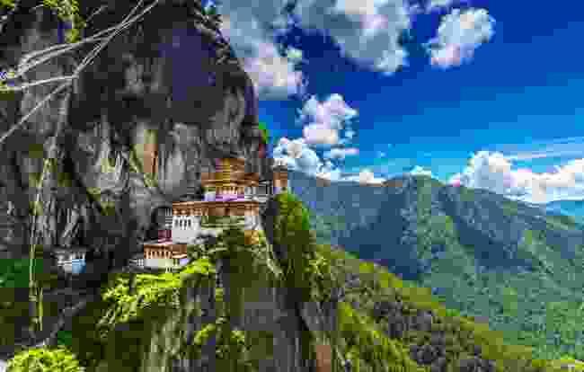 Taktshang Goemba, Bhutan (Shutterstock)