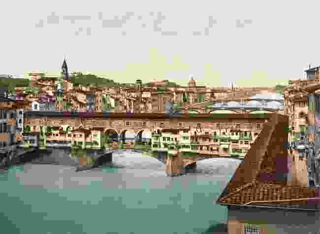 Bridges on the Arno, with Ponte Vecchio in the foreground, Florence (Marc Walter Collection, Paris)