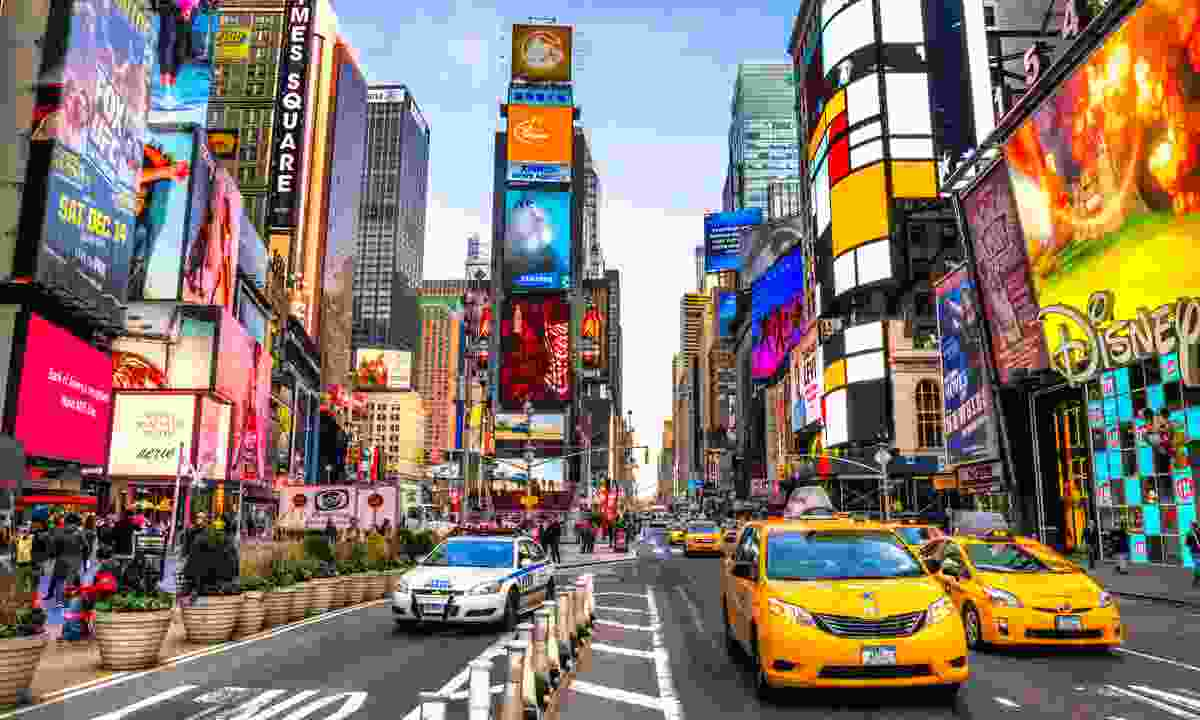 Times Square on Broadway (Dreamstime)