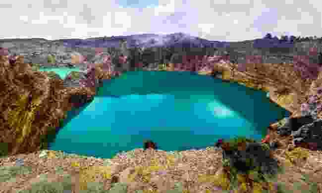 Tiwu ata Mbupu on Mount Kelimutu (Shutterstock)