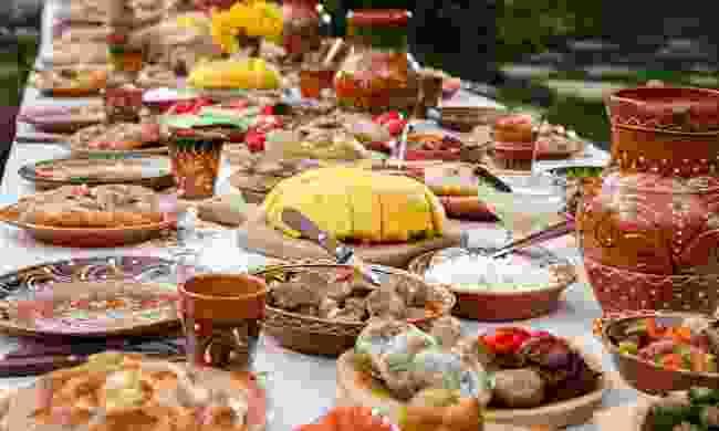 A Moldovan feast awaits (Shutterstock)