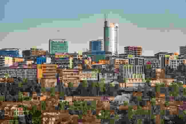 Kigali, Rwanda (Shutterstock)