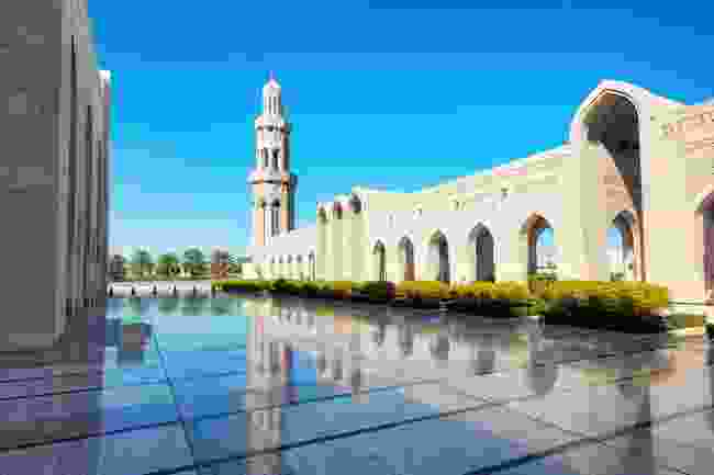 Sultan Qaboos Grand Mosque, Muscat, Oman (Dreamstime)