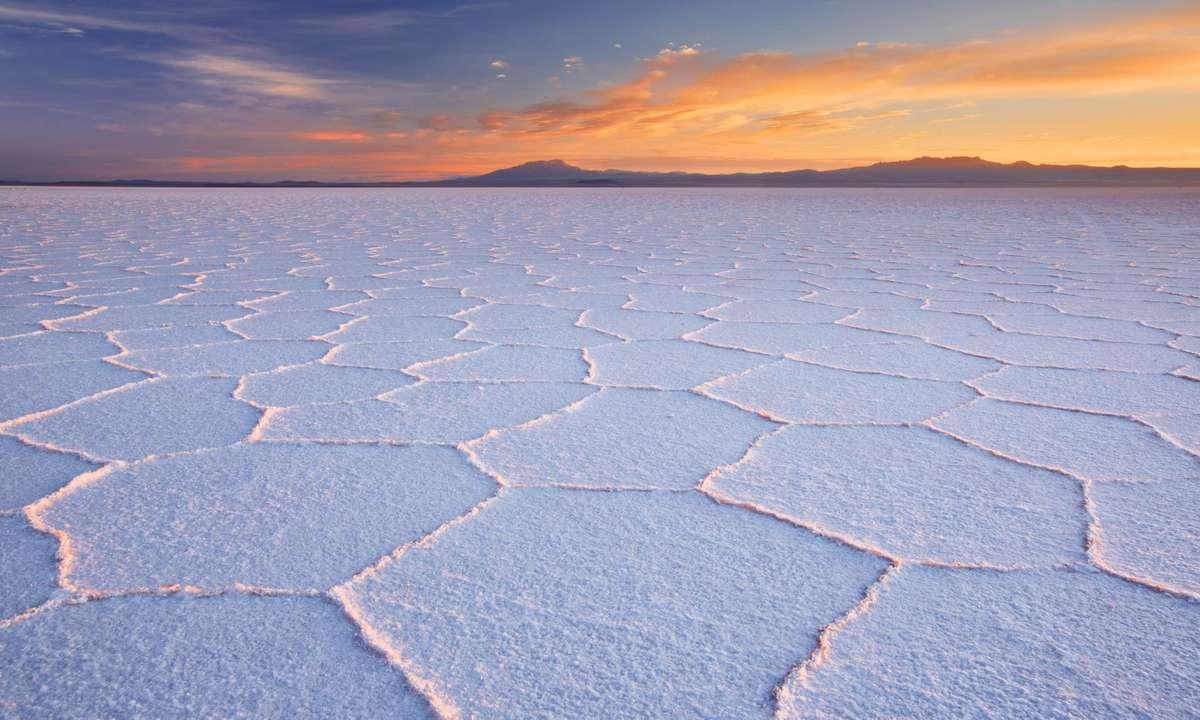 Bolivia's salt flats (Dreamstime)
