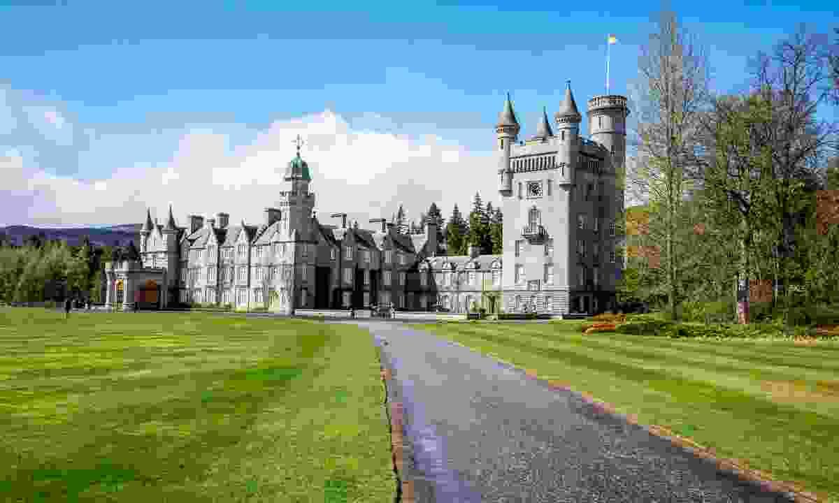 Balmoral castle in Scotland (Dreamstime)