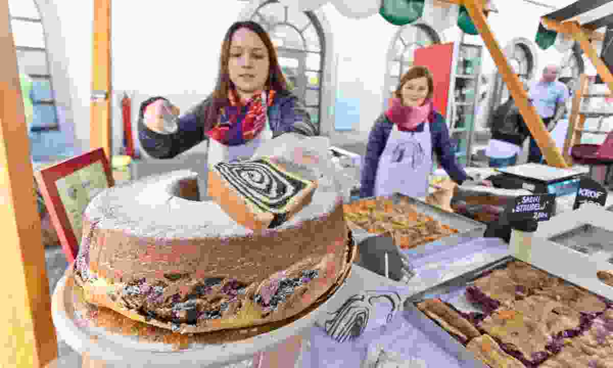 Potica cake (Slovenian Tourist Board)