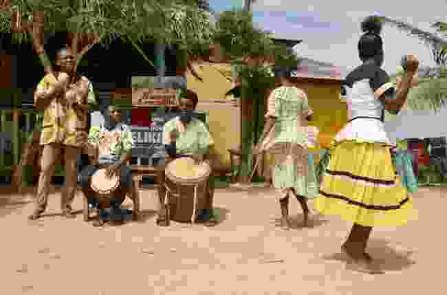 A Garifuna band performs folk songs in Hopkins Village, Belize (Shutterstock)