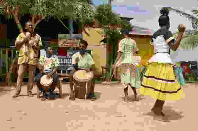 A Garifuna band performs folk songs in Hopkins Village, Belize (Shutterstock)