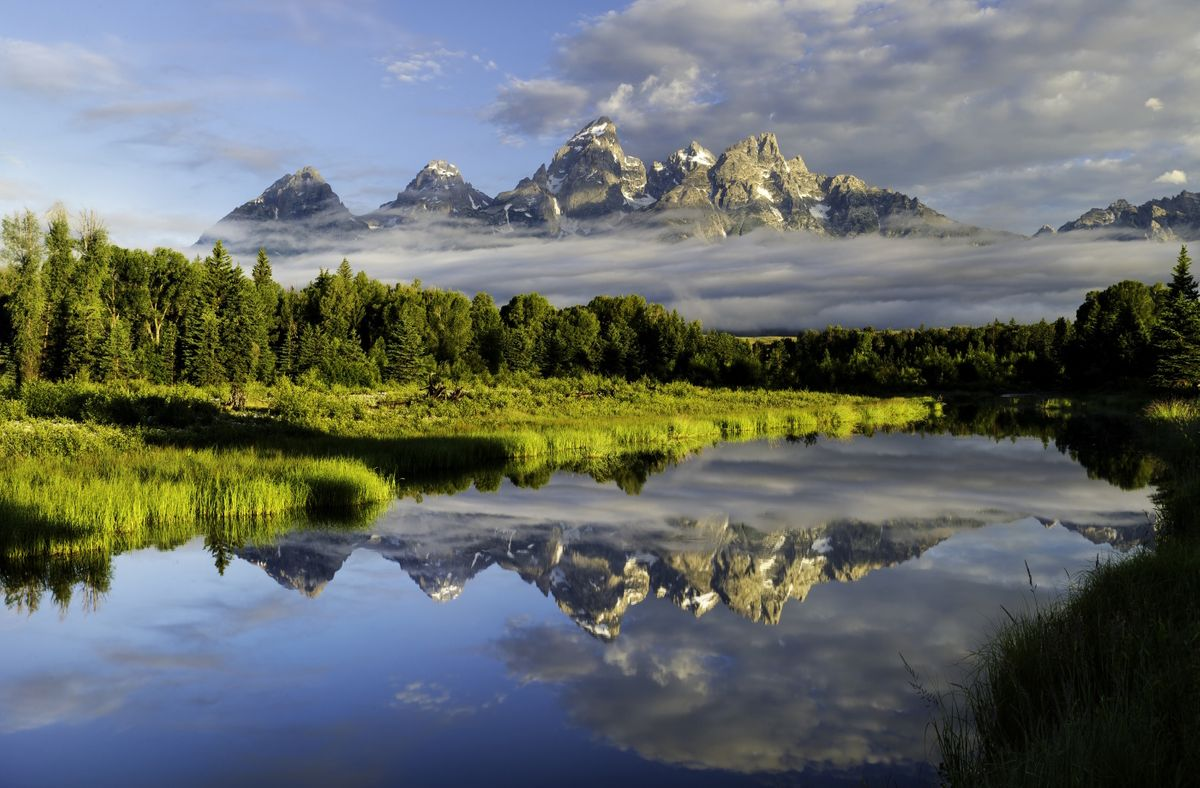 Grand Tetons, Wyoming (Dreamstime)