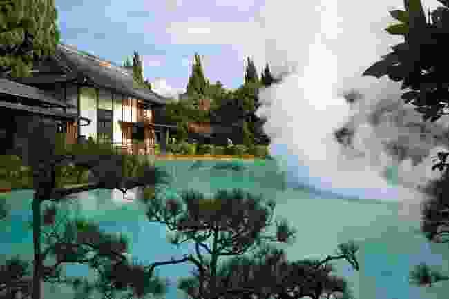 Okinawa; hot-spring onsen in Beppu, Kyushu Island (AWL)