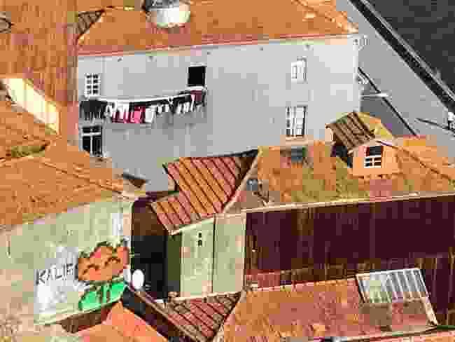 Kalif's visualisaton of Porto's hills as levels in Mario (Simon Chubb)