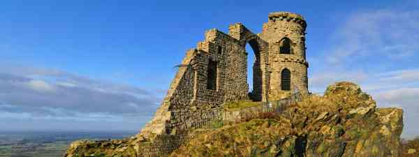 Mow Cop on the Cheshire border with Staffordshire (Shutterstock)
