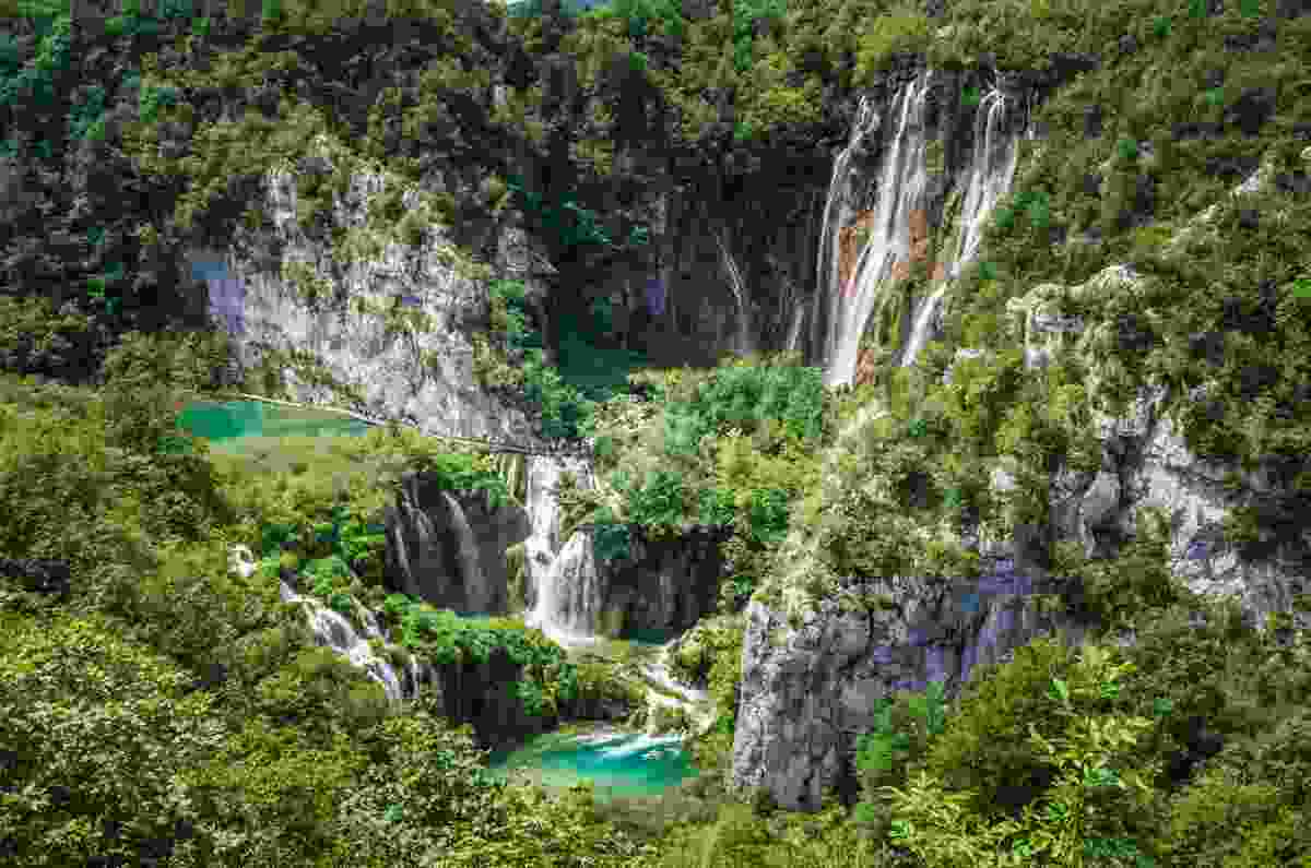 Plitvice National Park in Croatia is one of Europe's most famous (Dreamstime)