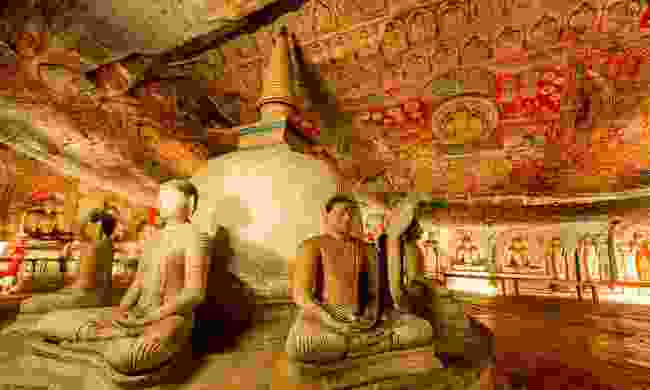 Visit the Rock Cave temple in Dambulla (Newmarket Holidays)