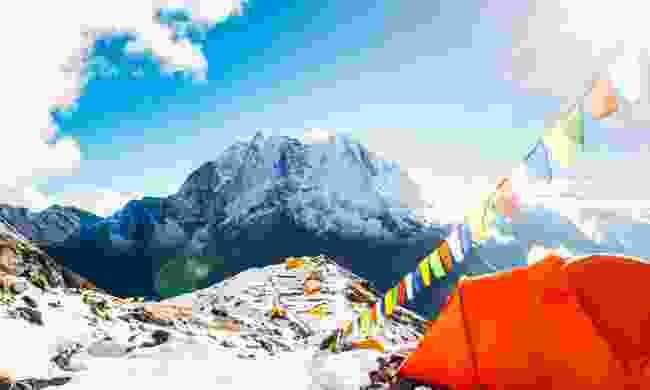 Climb to Everest Base Camp (Shutterstock)