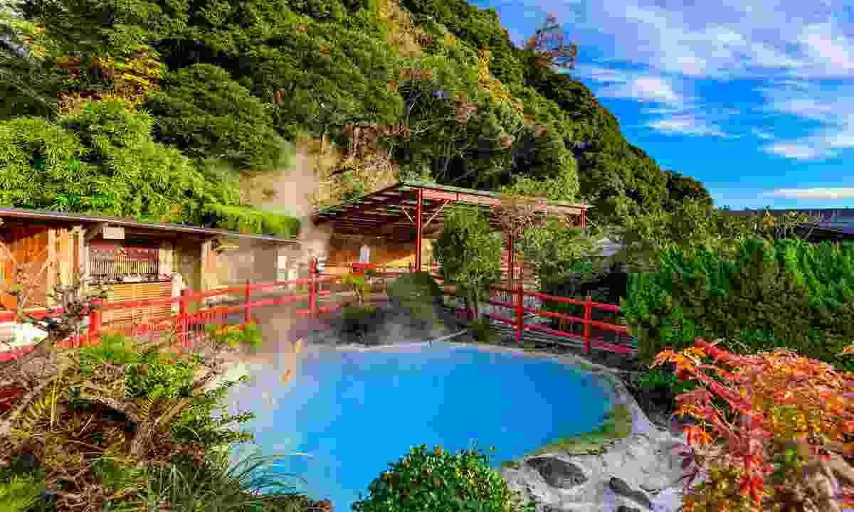Go on – throw caution to the wind! Try an onsen in Japan where no clothes are allowed (Shutterstock)