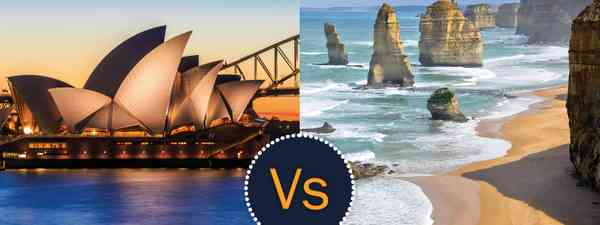 Sydney or Melbourne? The two Australian cities have a fierce rivalry (Shutterstock)