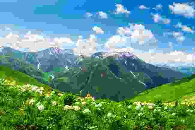 The Caucasus Mountains, Georgia (Shutterstock)