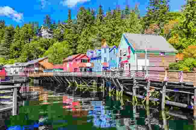 Ketchikan, Alaska, USA (Shutterstock)
