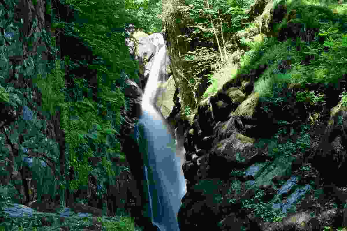 Aira Force waterfall in the Lake District, Cumbria, England (Dreamstime)
