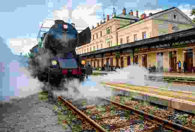 Bohinj Railway, Slovenia (Shutterstock)