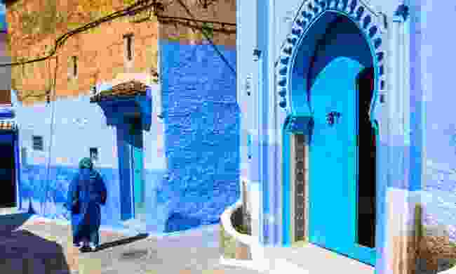 The blue lanes of Chefchaouen (Shutterstock)