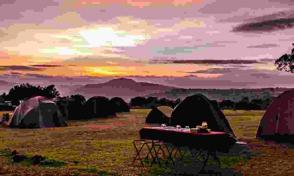 Camping near Ngorongoro Crater (Shutterstock)