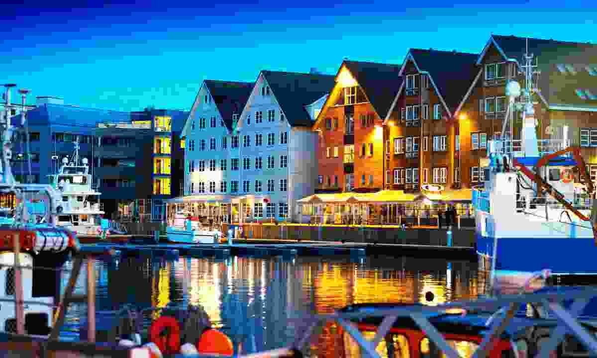 The colourful docks of Tromsø (Shutterstock)