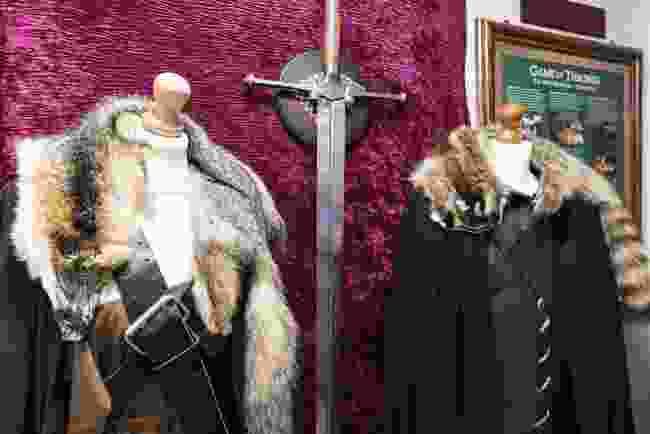 Game Of Thrones memorabilia (The Cuan)