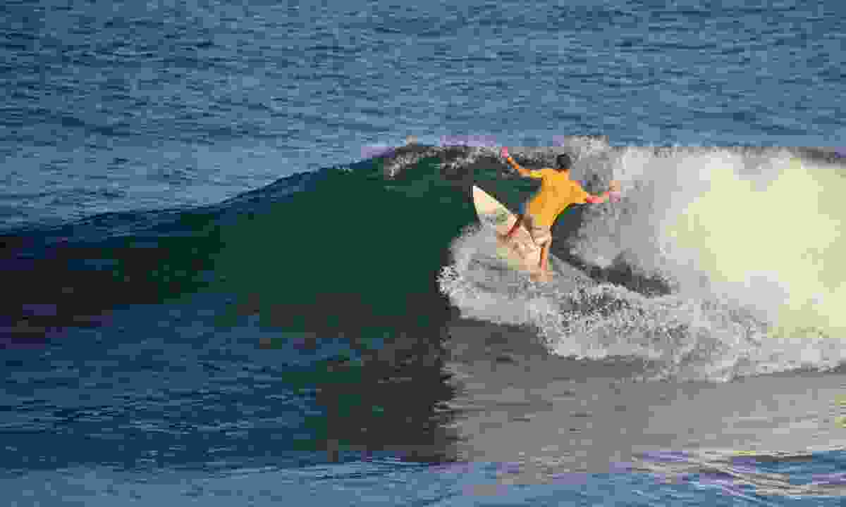 Surfing off El Zonte beach in El Salvador (Dreamstime)