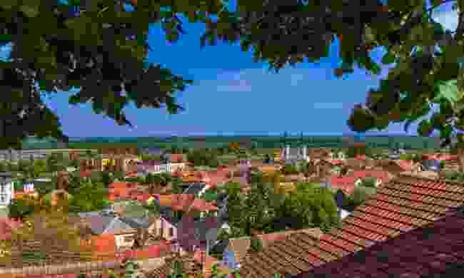 Sremski Karlovci's pretty old town (Dreamstime)