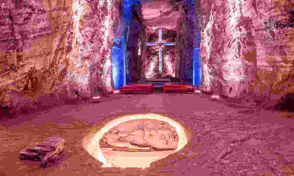 Underground chapel in Colombia (Dreamstime)