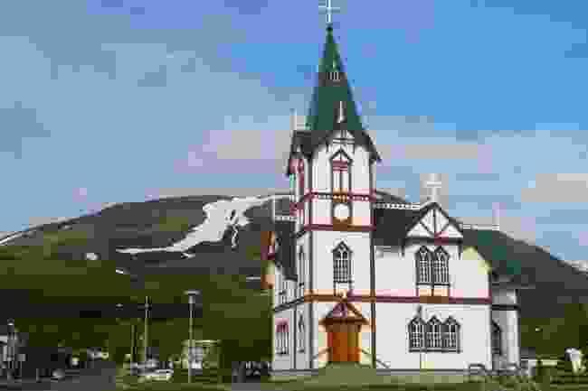 Húsavíkurkirkja, Iceland (Shutterstock)