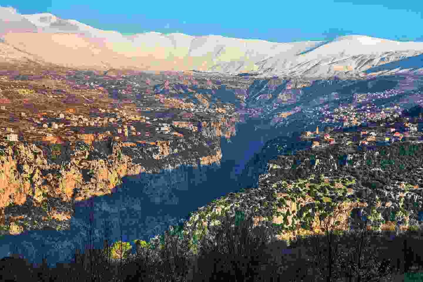 Kadisha Valley between Becharre and Zgharta in northern Lebanon is truly breathtaking (Shutterstock)