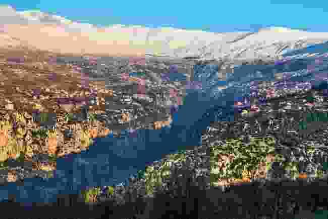 Kadisha Valley between Becharre and Zgharta in northern Lebanon is truly breathtaking (Shutterstock)