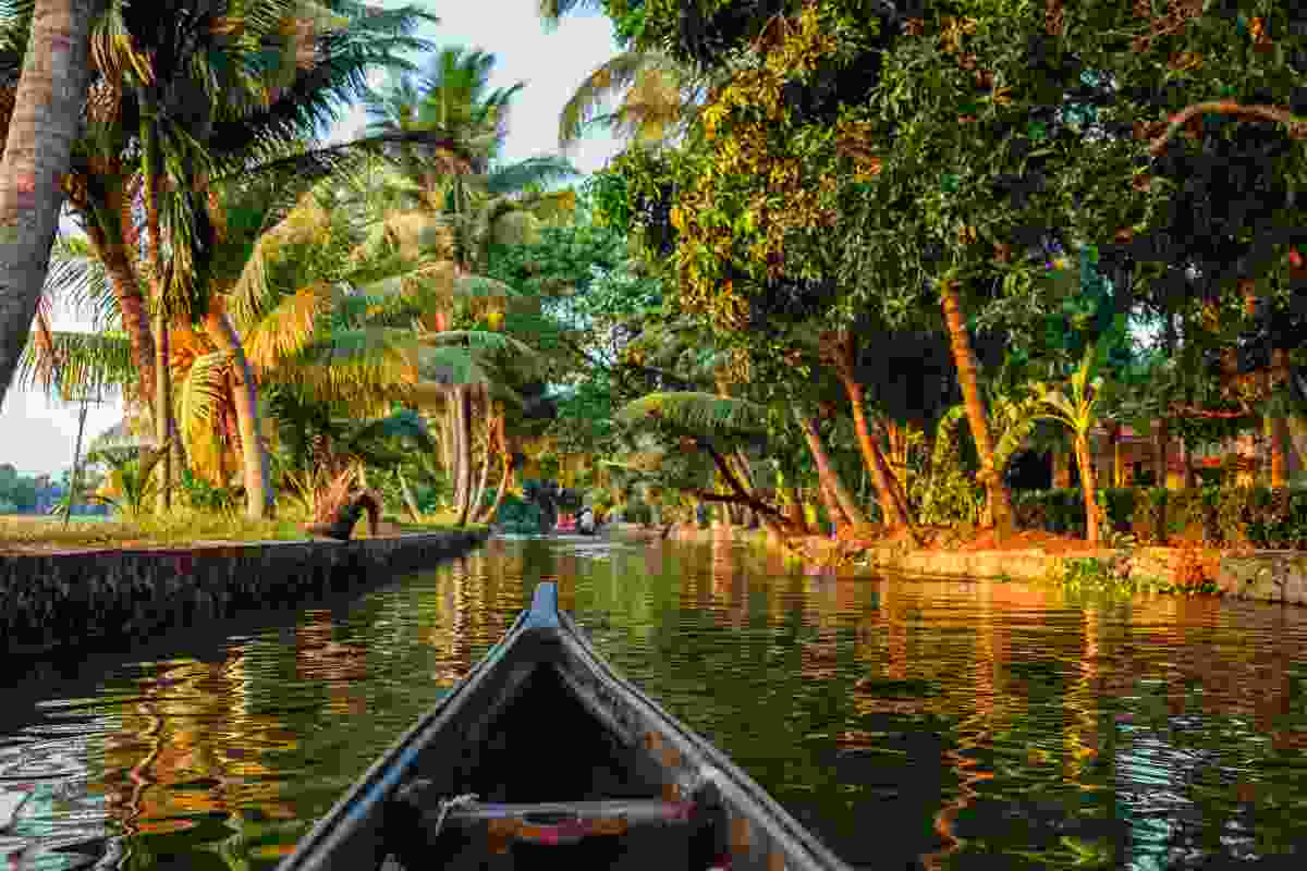 Kerala's backwaters, India (Shutterstock)